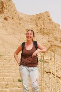 Masada, Israel, 2012