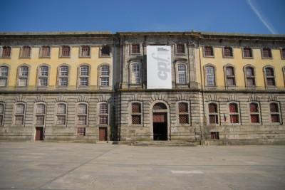 Porto, 2014, Gefängnismuseum. In dem ehrwürdigen Gebäude werden nun Fotos ausgestellt.