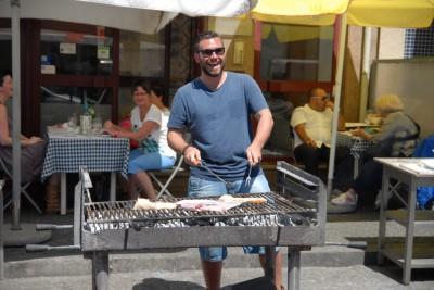 Porto, 2014, Gleich gibts Fisch: Dorade, Scholle und Stockfisch( bacelhau)