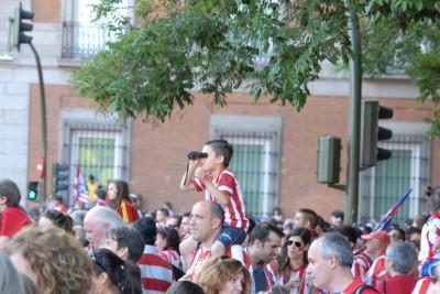 Madrid, 2014, Athletico Madrid Party