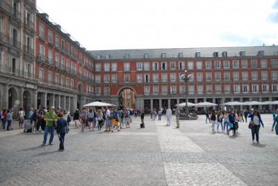 Madrid, 2014, Plaza Mayor