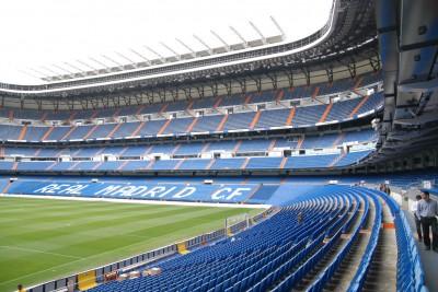 Madrid, 2014, Tour Bernabéu. Es ist eindeutig ein Stadion!