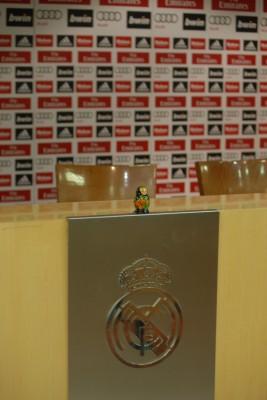 Madrid, 2014, Tour Bernabéu, Matroschka im Pressezentrum