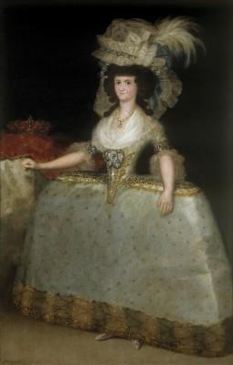 Madrid, 2014, Prado, Francisco de Goya, Maria Luise von Parma, (1789). Mein erster Eindruck, als ich das Bild sah: wie konnte der Künstler das überleben? Scheinbar war die Portätierte nicht mit Schönheit gesegnet. Dafür aber mit Macht! Das Bild zeigte immerhin die Königin von Spanien, was zu der Zeit wahrscheinlich die Machtfülle von Obama, Putin und Merkel bedeutete. Wie auch immer, Goyas lebte noch etliche Jahre und portätierte die Königin noch einige Male.