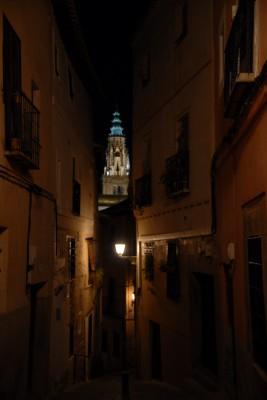 Toledo, 2014, Kathedrale bei Nacht