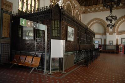 Toledo, 2014, Und so kann ein Bahnhof von innen aussehen.