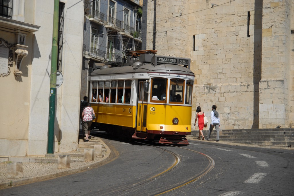 Lissabon, 2014, Tram No. 28