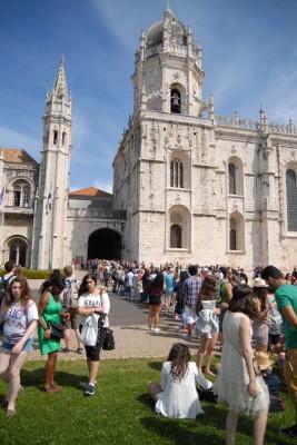 Lissabon, 2014, Mosteiro dos Jerónimos, 1. Versuch