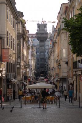 Lissabon, 2014, Elevador de Santa Justa
