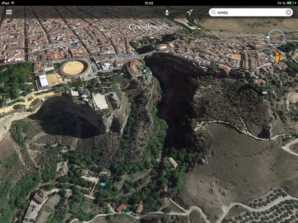 Ronda, 2014, google earth