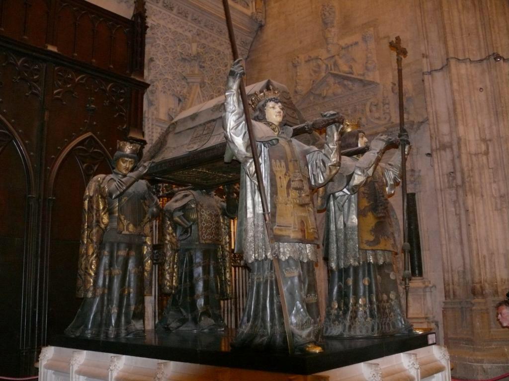 Sevilla, 2014, Kathedrale, Grab von Christoph Kolumbus