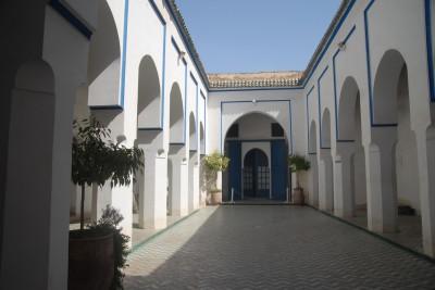2014, Marrakesch, Palais de la Bahia