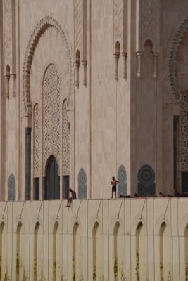 Casablanca, 2014, Moschee Hassan II.