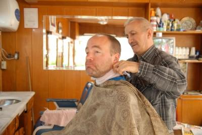 beim Friseur...ähm Kuaför