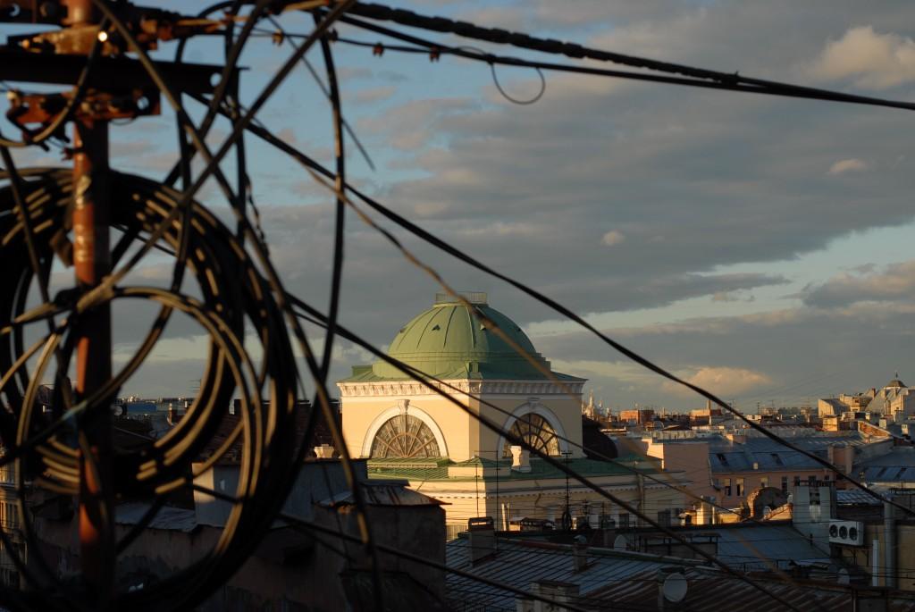 Auf den Dächern der Stadt