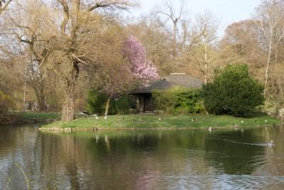 München, 2016, das Teehaus im Englischen Garten