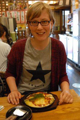 Hiroshima, 2016, Annie & Okonomiyaki