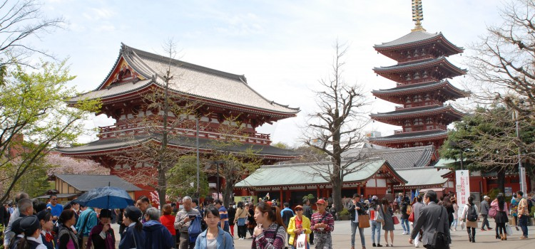 Tokio Asakusa, Tempel Sensõ-ji