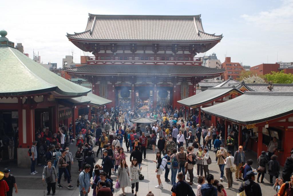 Tokio, 2016, Asakusa, Sensō-ji