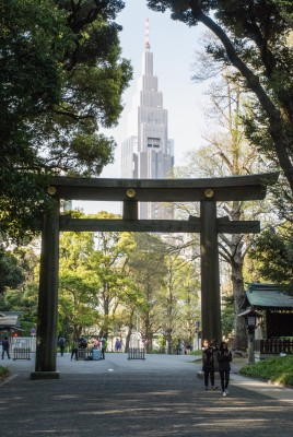 Tokio, 2016, Yoyogi-Park, Meji-Schrein