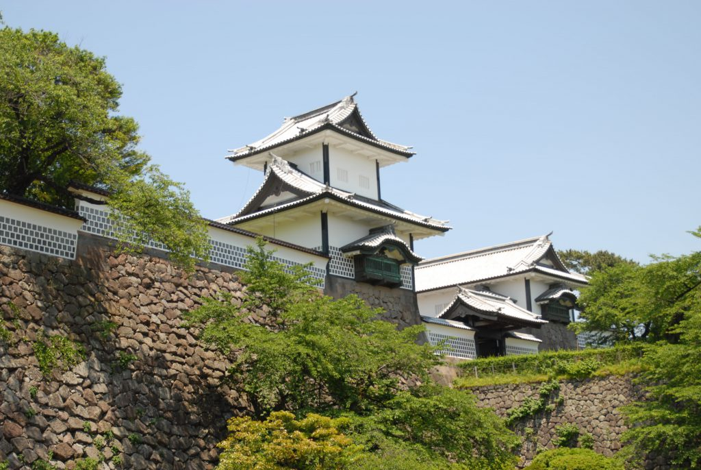 Kastell in Kanazawa