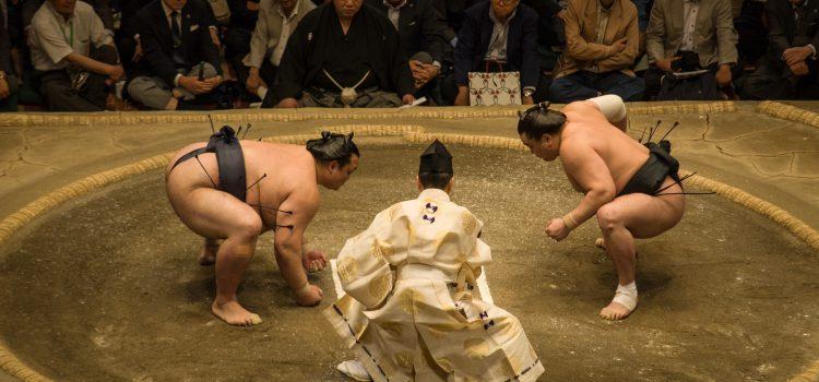 Sumō in Tokio