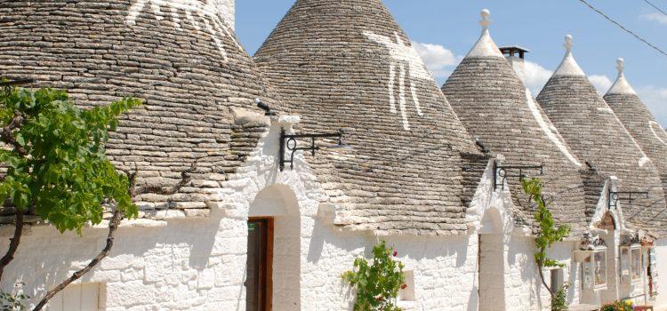 Alberobello und Polignano, Bilder